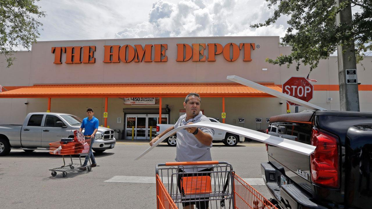Former Home Depot CEO Bob Nardelli on Home Depot's first-quarter results and outlook.
