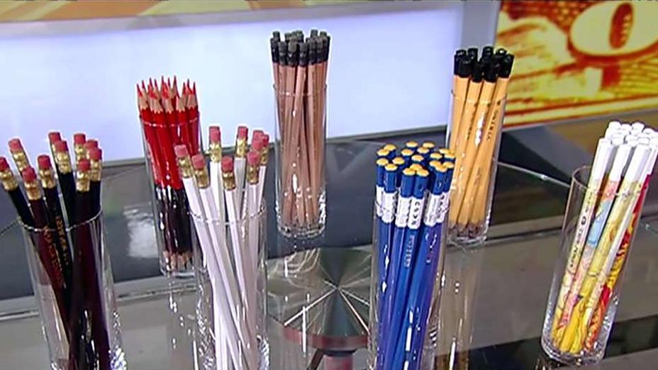 C.W. Pencil Enterprise owner Caroline Weaver on her store that only sells pencils.