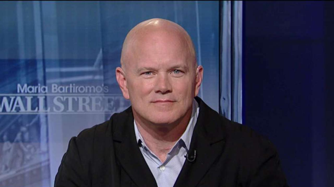 Galaxy Digital Capital Management CEO Michael Novogratz discusses why he launched a cryptocurrency index and why he expects every corporate treasury to adopt blockchain technology.