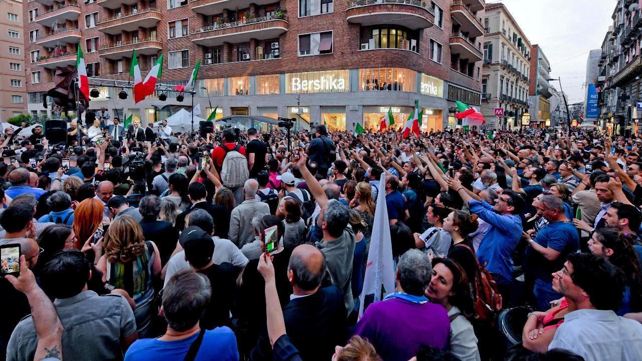 FBN's Stuart Varney on Italy's political and economic turmoil.