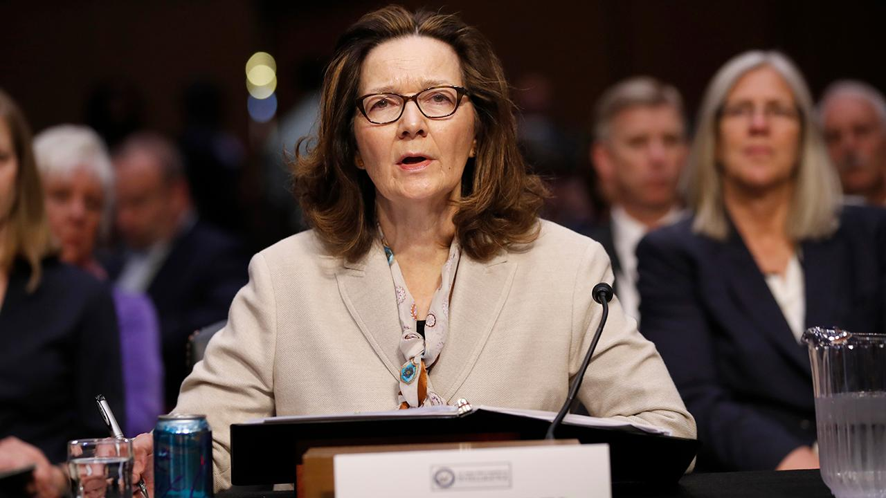 FBN's Kennedy discusses CIA nominee Gina Haspel's confirmation hearing on Capitol Hill.