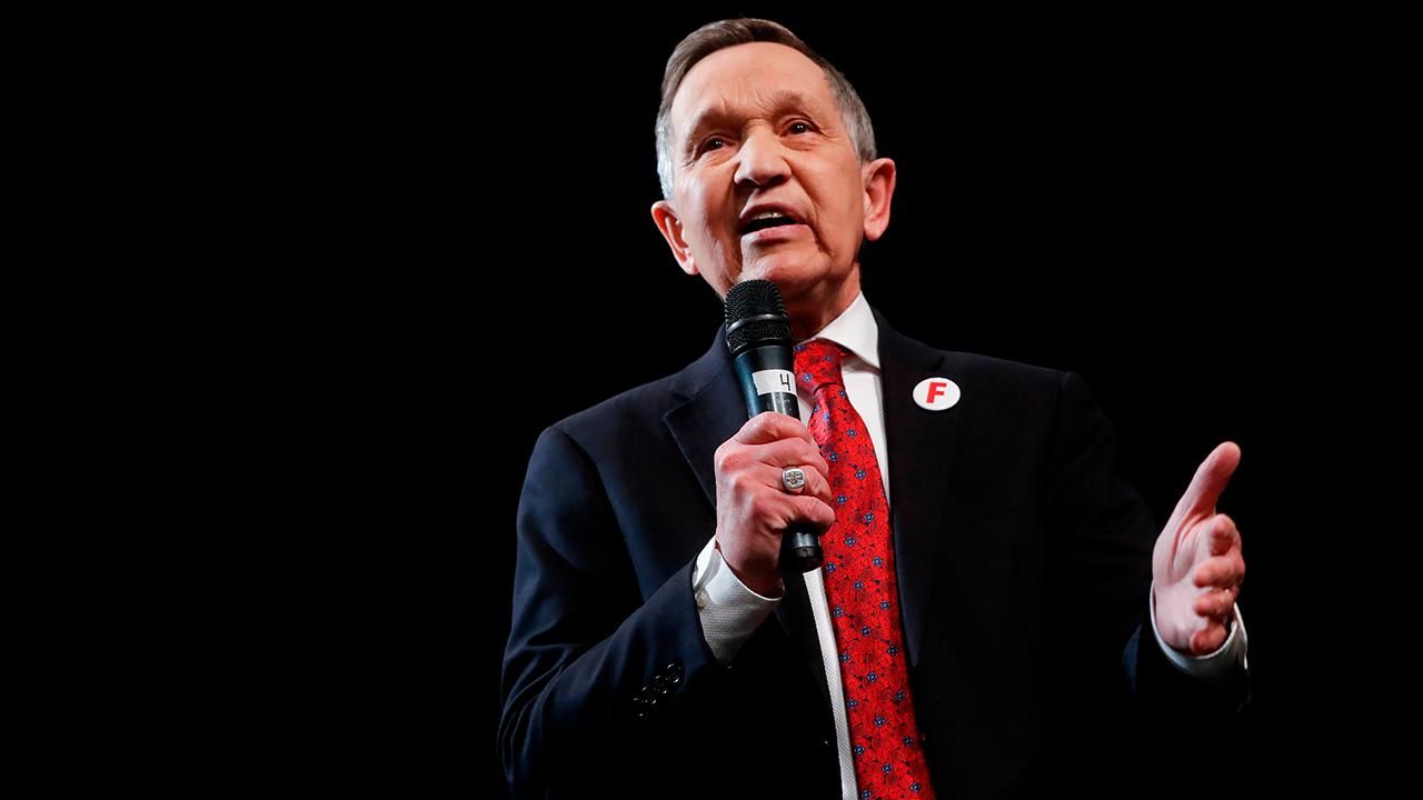 Ohio gubernatorial candidate Dennis Kucinich on the Democratic primary race.