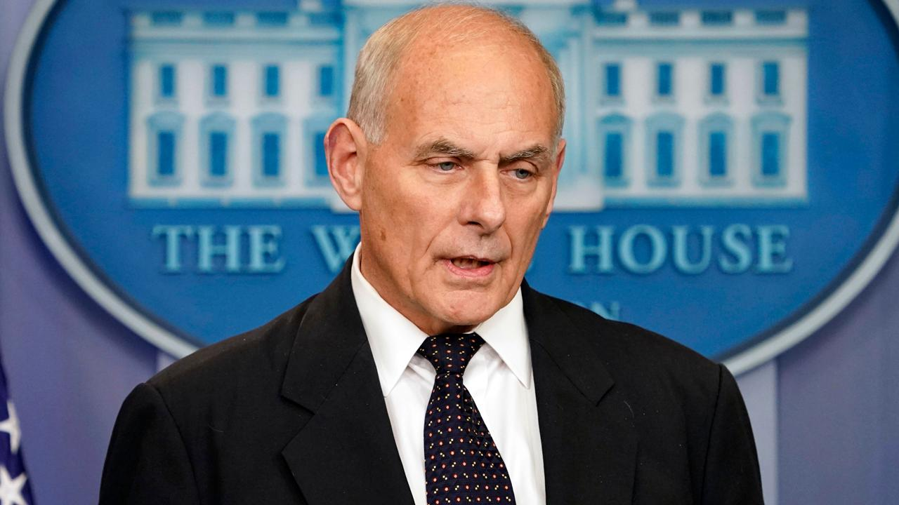 FBN's Liz Claman discusses The Wall Street Journal's report that White House Chief of Staff John Kelly is expected to leave the White House this summer.