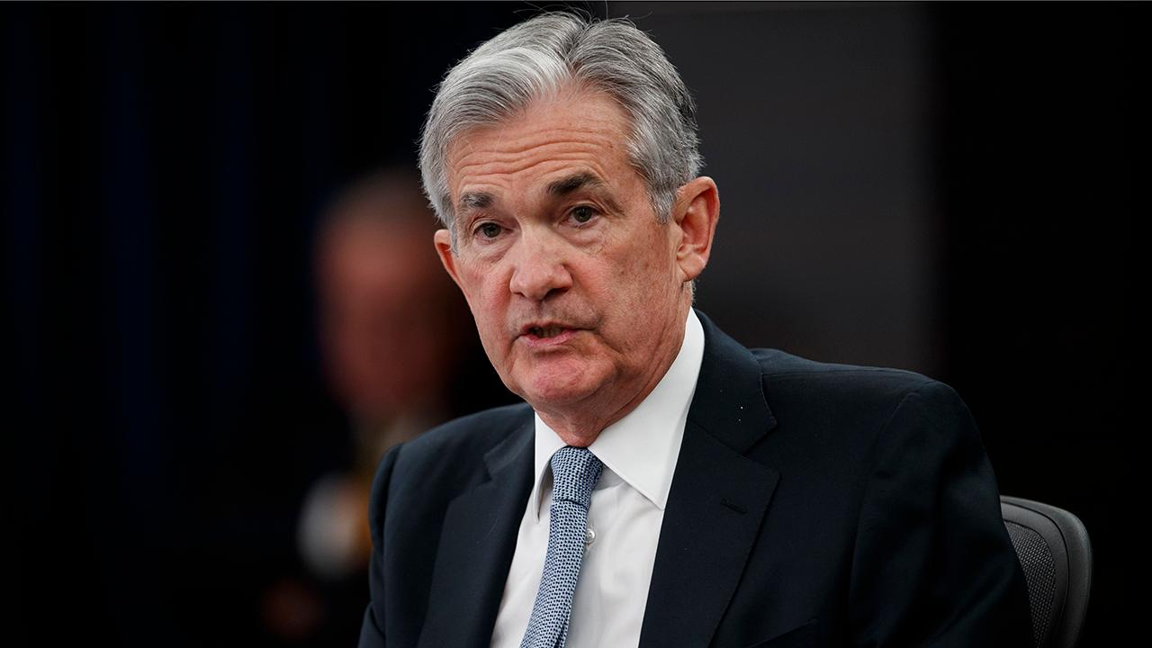 Federal Reserve Chairman Jerome Powell discusses the strength of the U.S. economy.