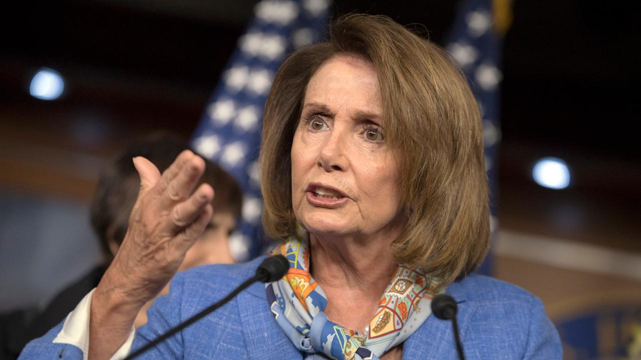 Donald J. Trump Media Advisory Board member Gina Loudon and WOR radio personality Mark Simone on how House Minority Leader Nancy Pelosi (D-Calif.) called for Congress to work on gun control legislation after the Maryland shooting.