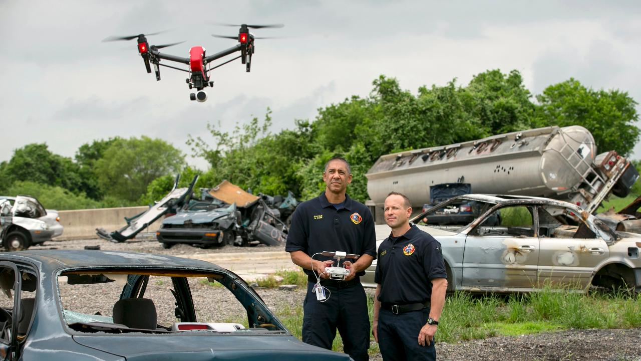 Axon CEO Rick Smith on the company's deal with drone-manufacturer DJI to produce drones for law enforcement.