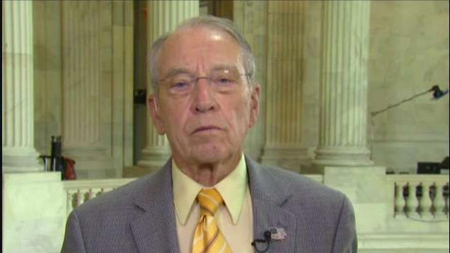 Sen. Chuck Grassley, (R-Iowa), on immigration reform, escalating trade tensions and the IG report.
