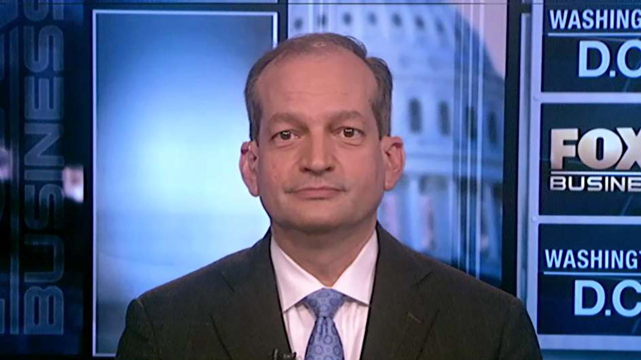 Labor Secretary Alexander Acosta discusses how the department's new health insurance rule will help small businesses band together to bargain for cheaper health plans.