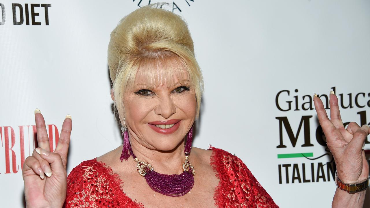 Ivana Trump and Gianluca Mech on the benefits of the Italiano Diet.