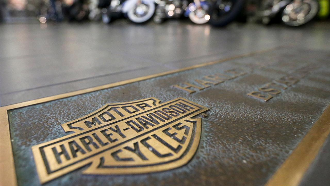Rep. Thomas Massie (R-Ky.) weighs in on Harley-Davidson's decision to move some of its production outside the U.S.