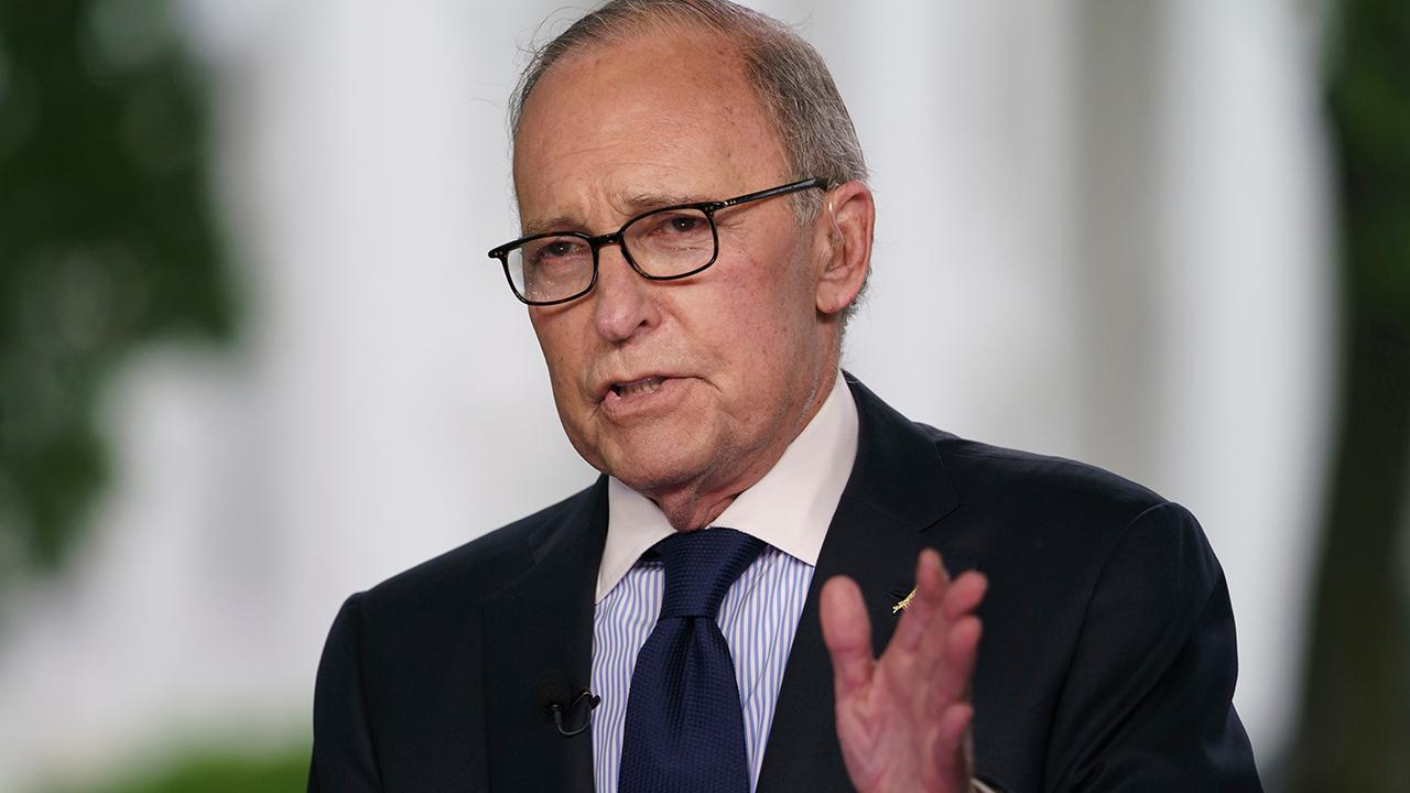"FBN's Edward Lawrence on the report that President Donald Trump's chief economic adviser Larry Kudlow is ""fine"" after suffering from a heart attack."