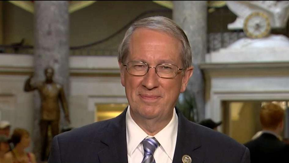 Rep. Bob Goodlatte (R-Va.) discusses the difference between the two immigration bills being considered in Congress.