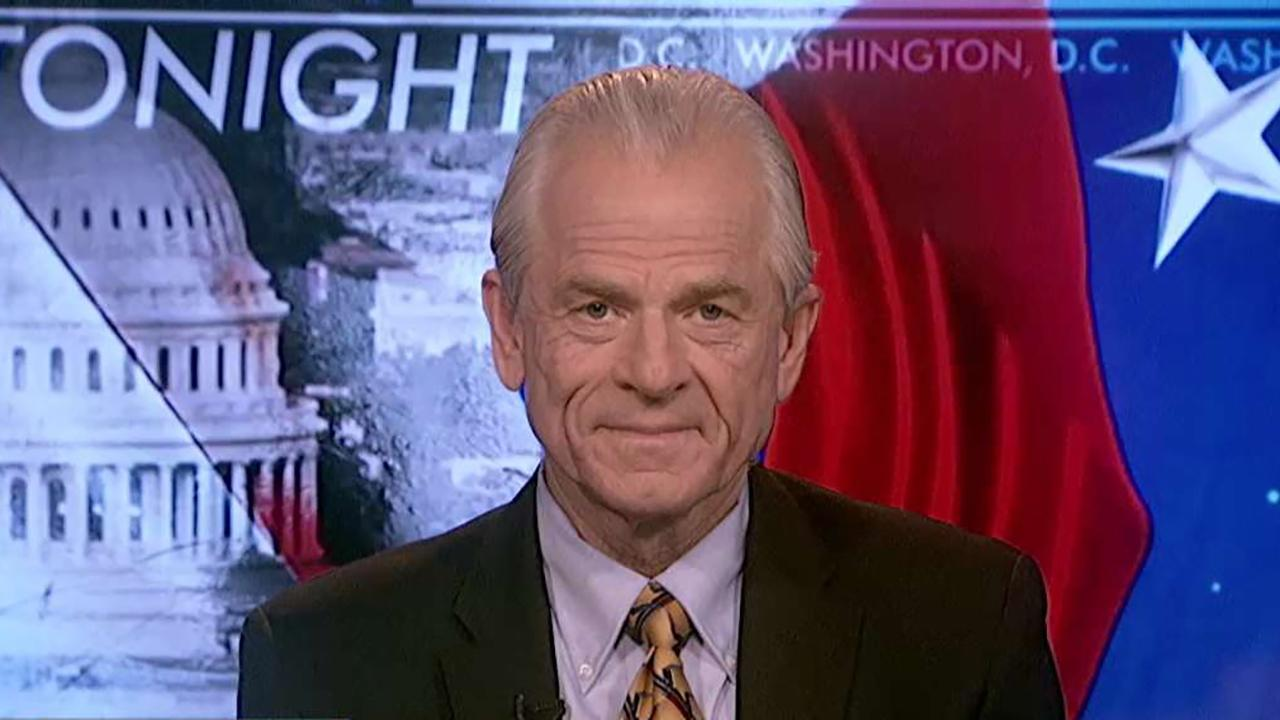 White House Director of Trade Policy Peter Navarro discusses President Trump's tariffs against China and why the Chinese shouldn't have retaliated with their own tariffs.