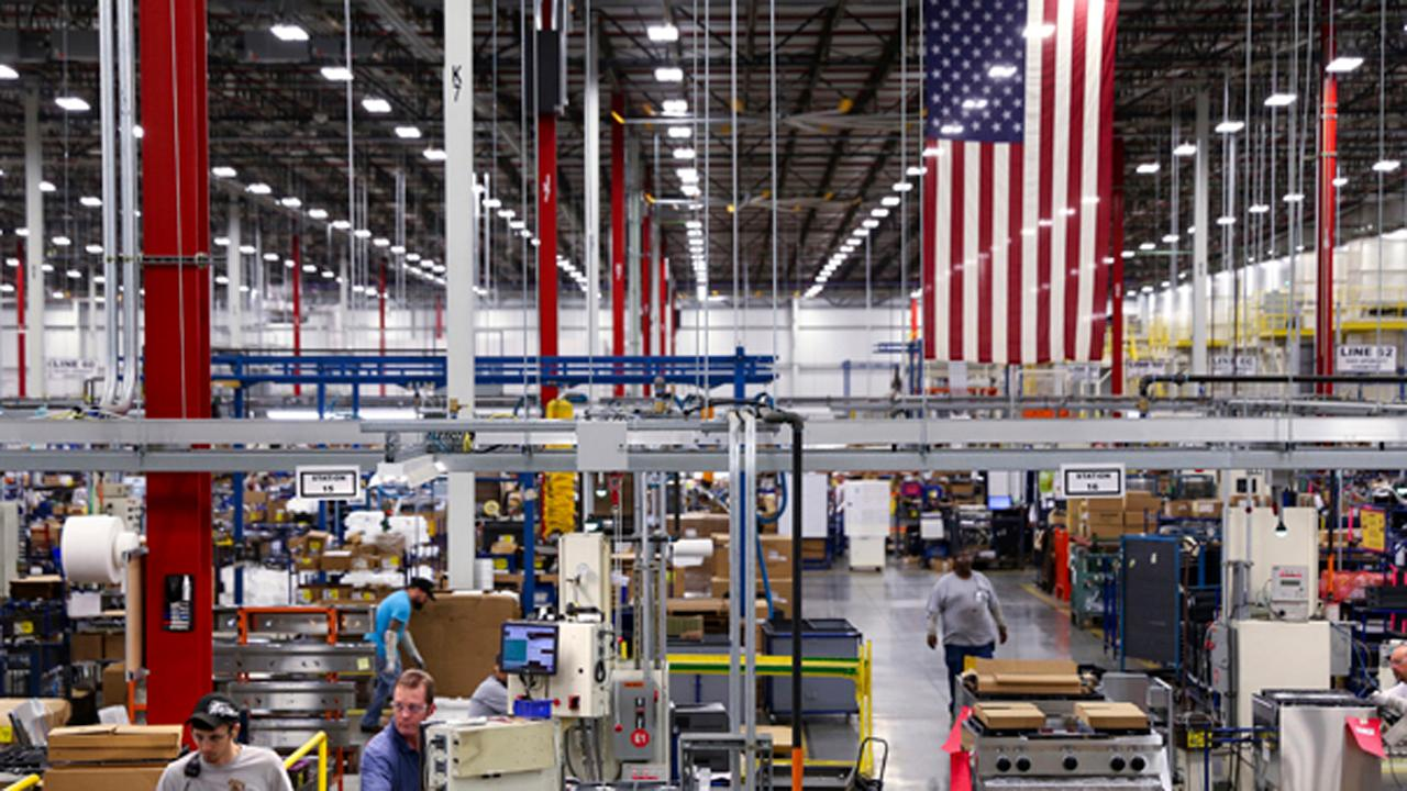National Association of Manufacturers President Jay Timmons discusses how President Trump's tax cuts sparked optimism with manufacturers.