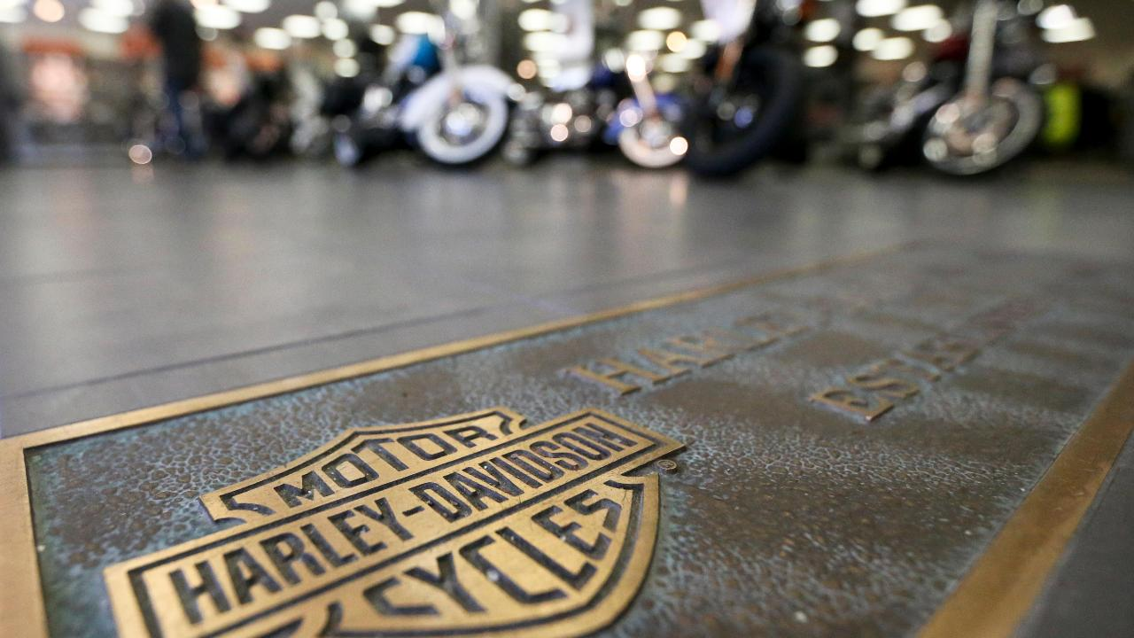 Bikers for Trump founder Chris Cox on President Trump slamming Harley-Davidson over the company's decision to move some production overseas due to retaliatory European tariffs.