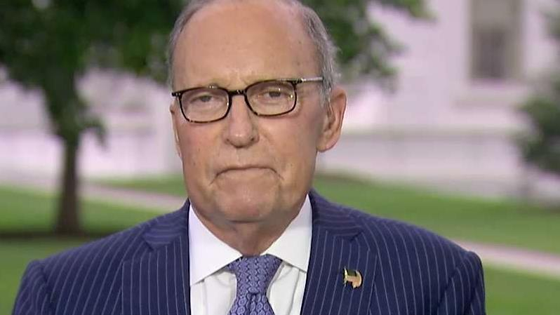 National Economic Council Director Larry Kudlow on his health, trade tensions with China and Trump administration efforts to protect U.S. technology.