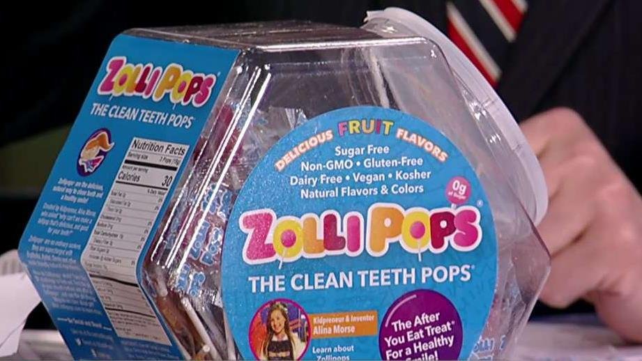 Zollipops CEO Alina Morse on how she got the idea for her candy company at age seven.