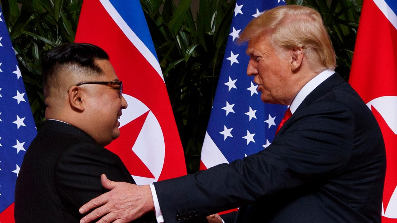 President Trump on the agreement with North Korea at the nuclear summit.