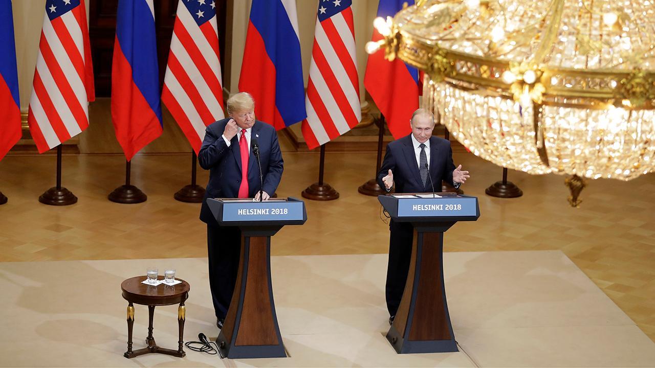 Left-wing media was hysterical over Trump-Putin presser: Rep. Biggs