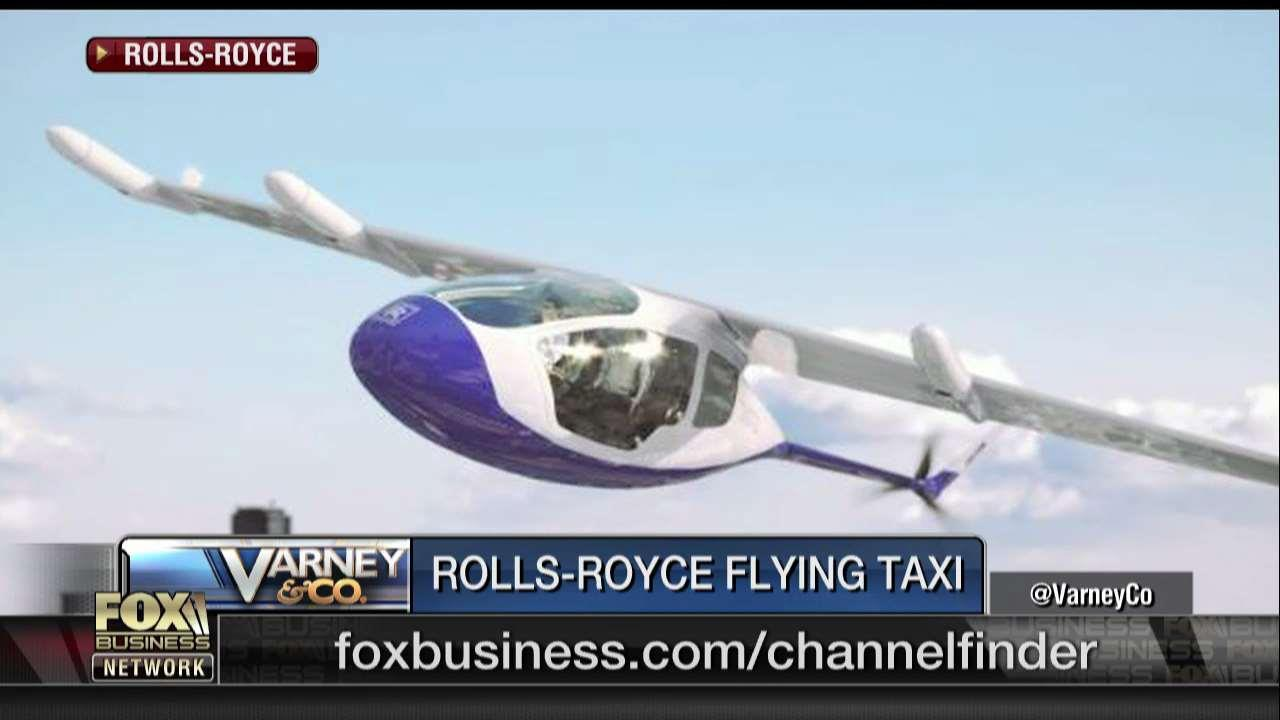 The Britain-based jet engine producer expects to have its first flying taxi, EVTOL, ready within the next few years.
