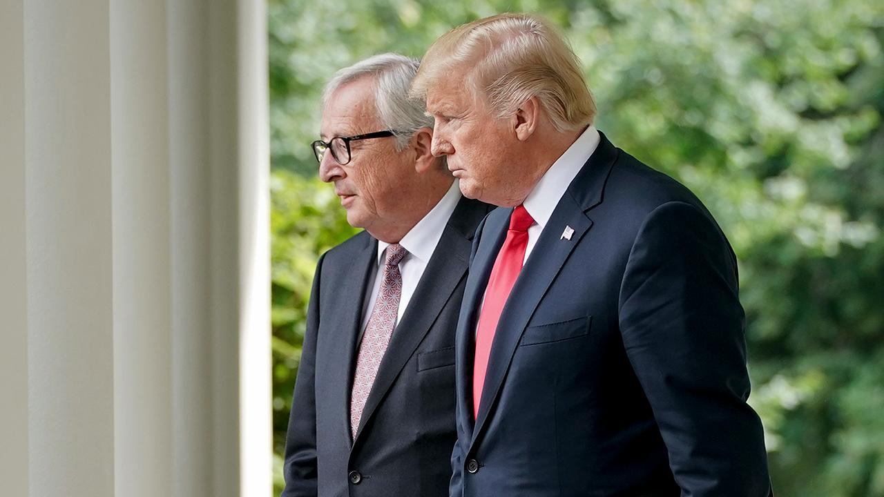 U.S. Department of Commerce Secretary Wilbur Ross discusses President Trump's successful meeting with European Commission President Jean-Claude Juncker over trade.