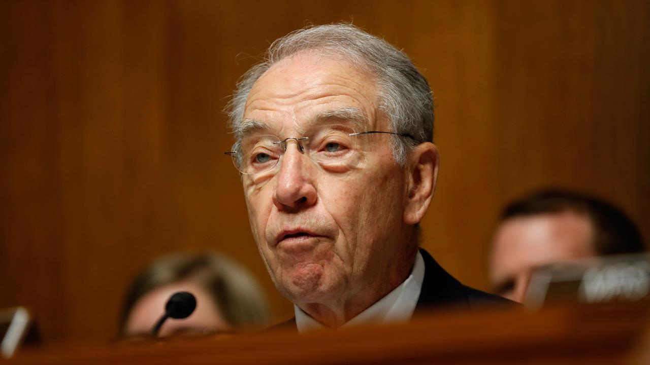 Sen. Chuck Grassley, (R-Iowa), on mounting concerns over the impact of tariffs.