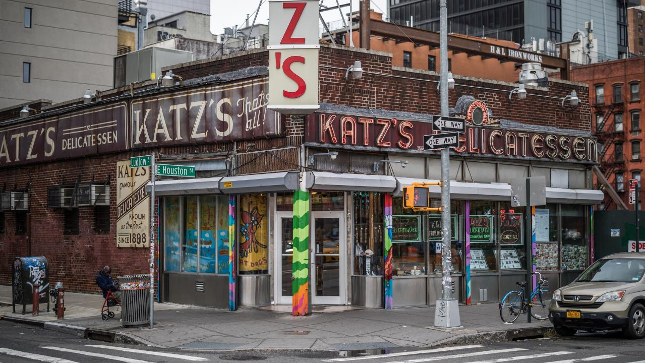 New York City's historic Katz's Delicatessen began as a small family business in Manhattan but has since grown from just delivering meats to homes to now diving into subscription-based ordering.