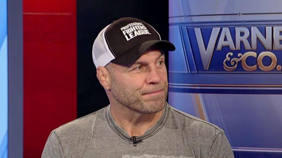 Retired MMA fighter Randy Couture on the new Professional Fighters League.