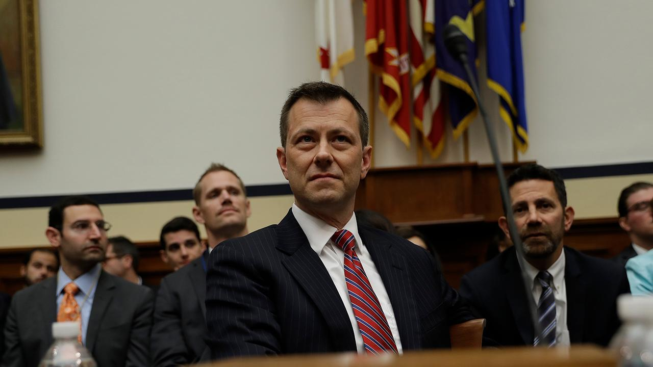 Former FBI Assistant Director Jim Kallstrom discusses FBI official Peter Strzok's testimony and why he needs to be fired.