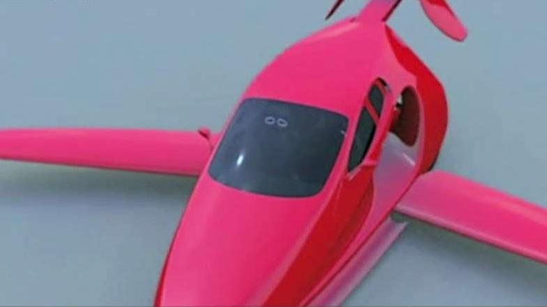 FBN's Jeff Flock on a new flying car that is almost ready for test flights.