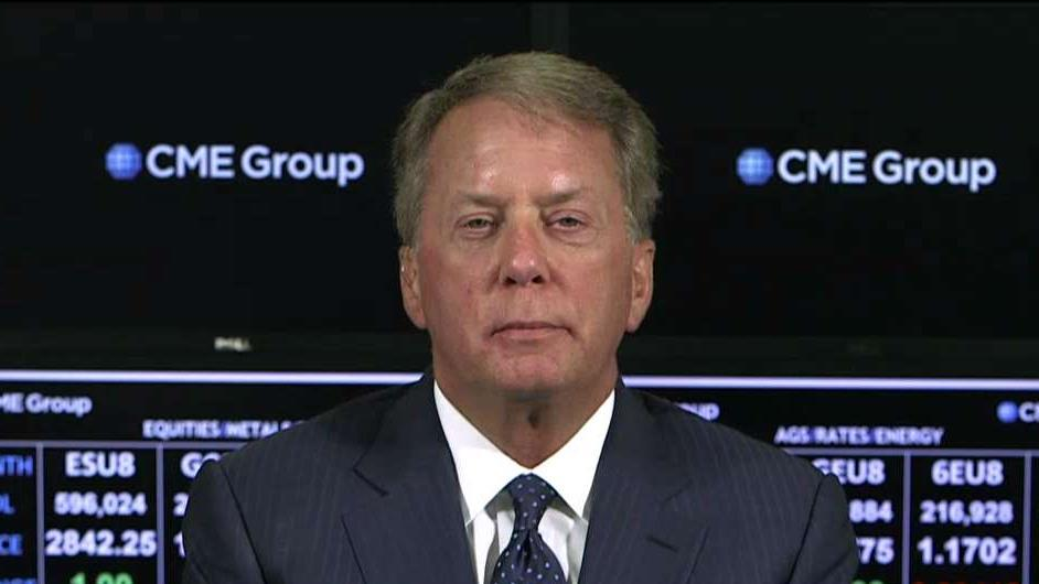 CME Group CEO Terry Duffy on the market and economic impact from tariffs.