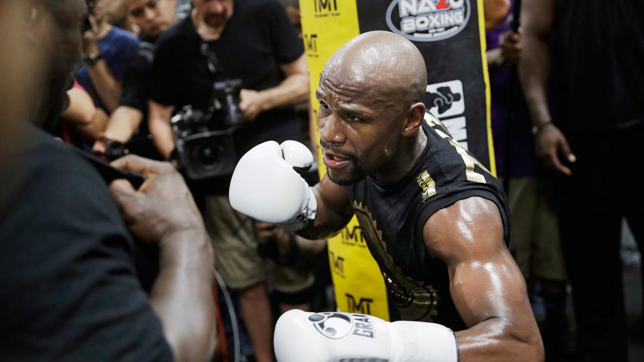 Undefeated boxing champ Floyd Mayweather discusses his global business venture, Mayweather Boxing + Fitness, that features a virtual reality experience.