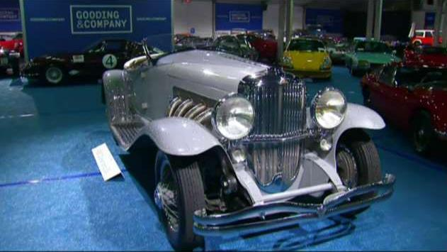 FBN's Adam Shapiro talks to Gooding & Co. CEO David Gooding on some of the classic cars up for auction at Concours d'Elegance.