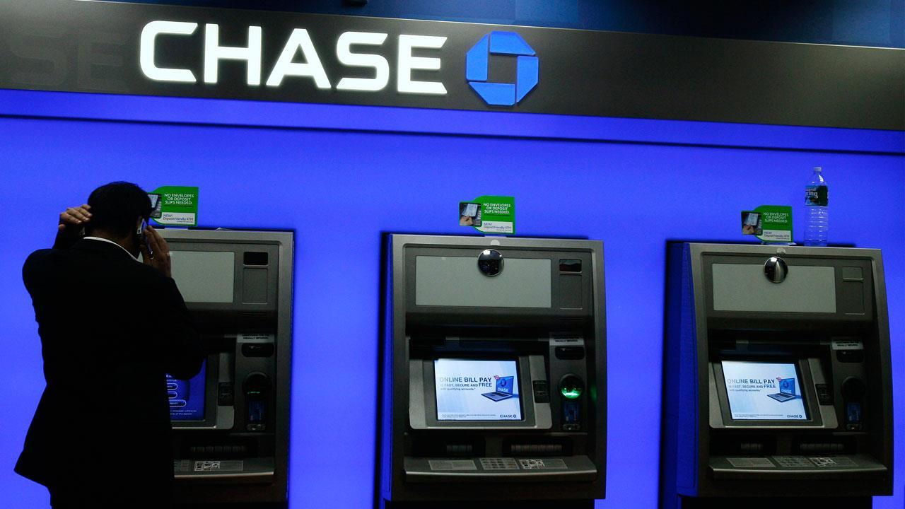 FBN's Adam Shapiro on Chase rolling out cardless transactions to most of its ATMs .