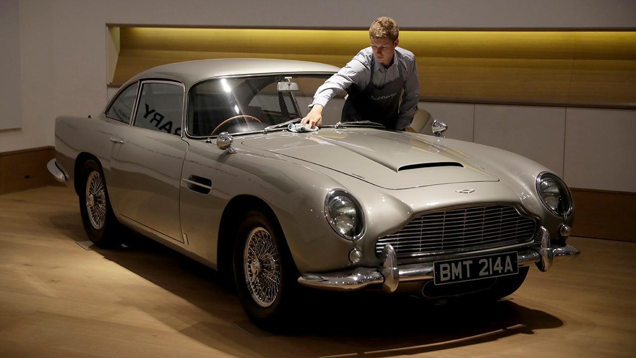 Aston Martin Targets 6 7 Billion Ipo Valuation Fox Business