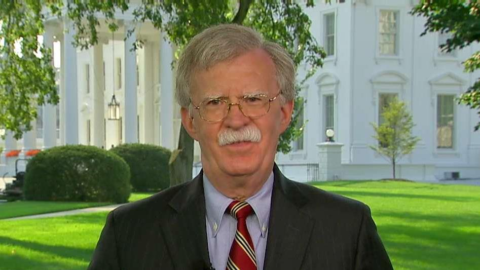 National Security Advisor John Bolton on Iran sanctions, oil prices and North Korea.