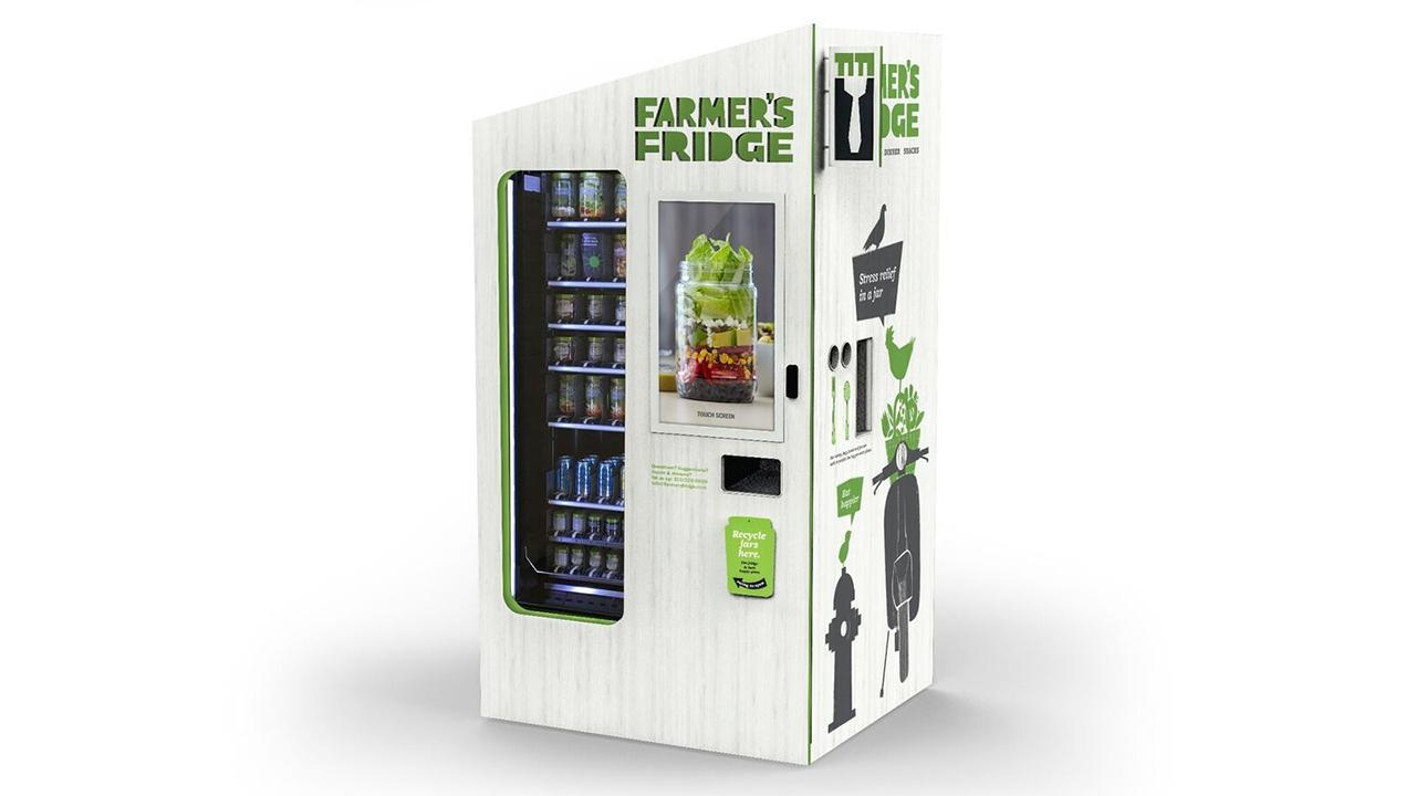 Farmer's Fridge small business owner Luke Saunders on disrupting the vending machine industry.