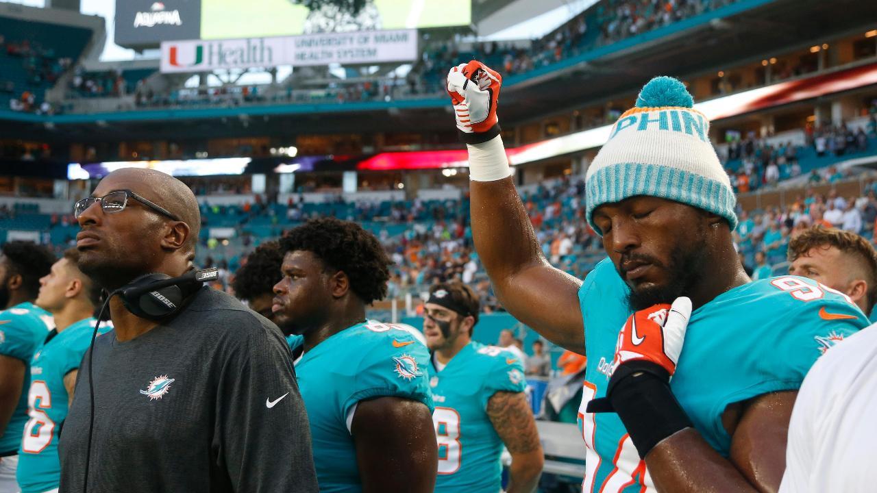 Palm Beach County PBA President John Kazanjian on calls to boycott the Miami Dolphins after players' anthem protest.