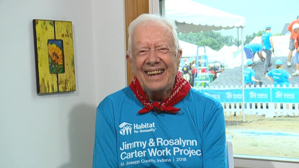 President Jimmy Carter on FBN's Neil Cavuto interning in the Carter administration and 'Habitat for Humanity.'