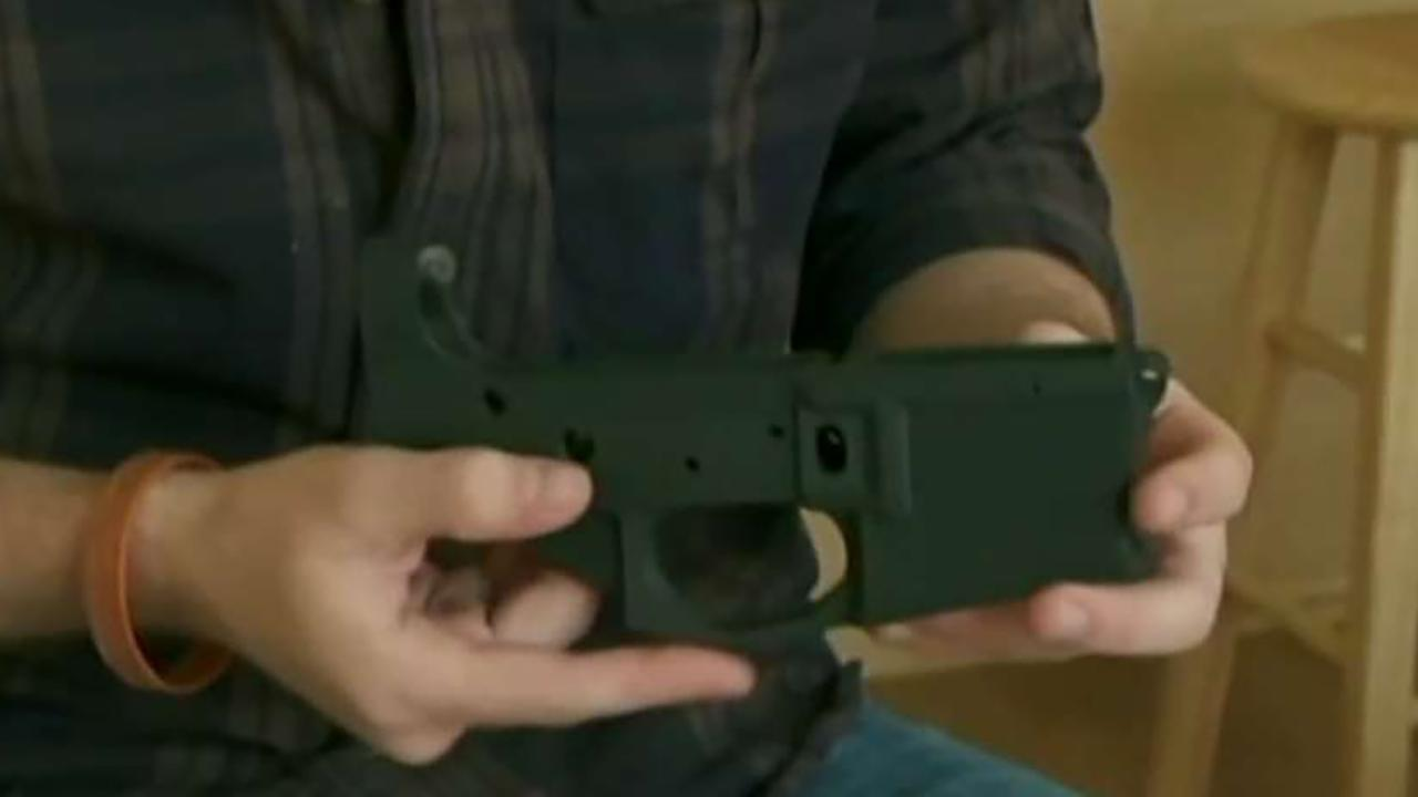 Fox News senior judicial analyst Judge Andrew Napolitano discusses how a federal judge halted the plans for the online release of 3D-printed guns.