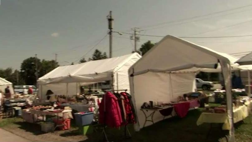FBN's Jeff Flock on the 127 Yard Sale that stretches from Michigan to Alabama.