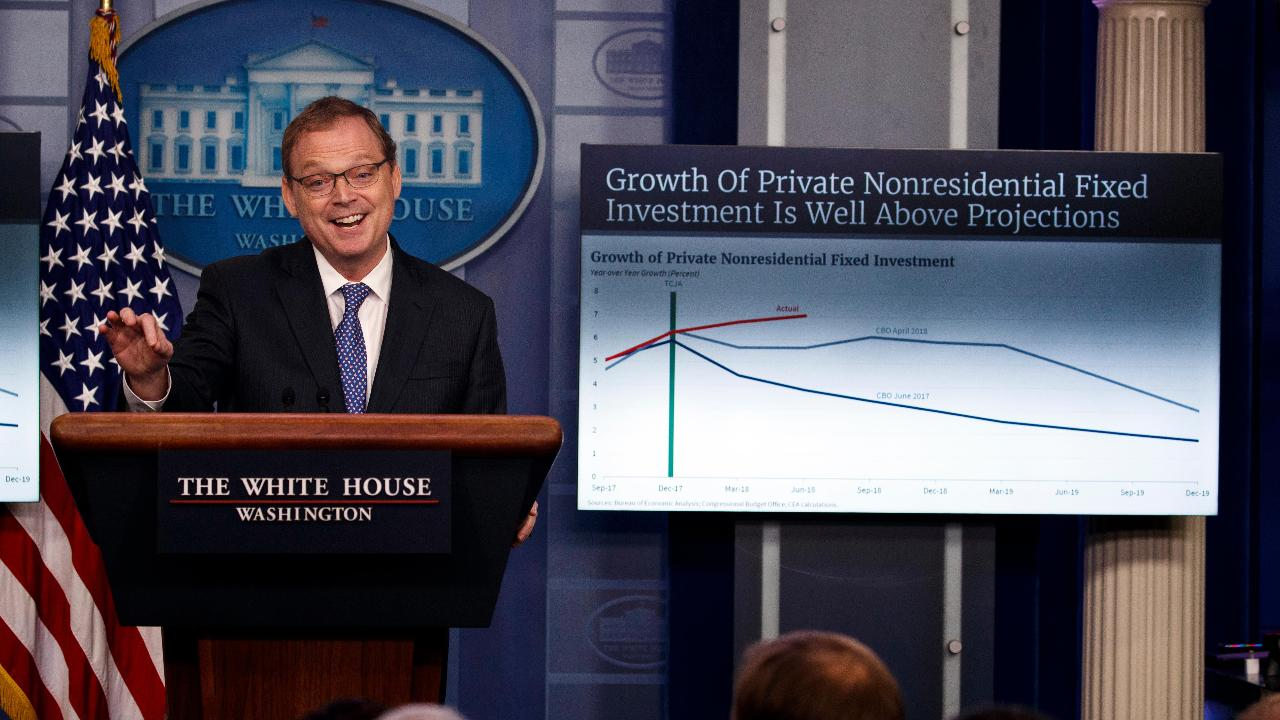 White House Council of Economic Advisors Chairman Kevin Hassett discusses how the Trump administration is helping people get back into the workforce.