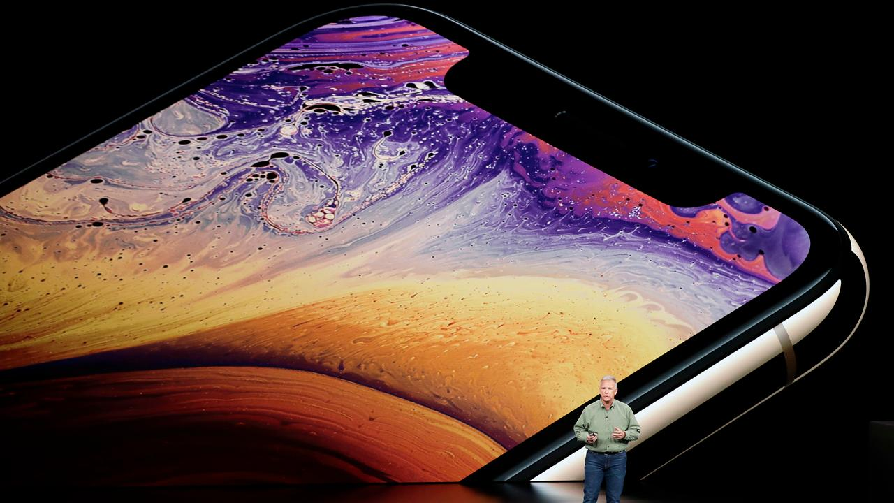 Apple unveiled new products on Wednesday, including a new iPhone and a new iWatch. FBN's Hillary Vaughn discusses some of the details and the newest features.