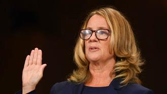 Christine Blasey Ford says she's been the target of constant harassment and death threats during her testimony on Brett Kavanaugh sexual assault allegations.