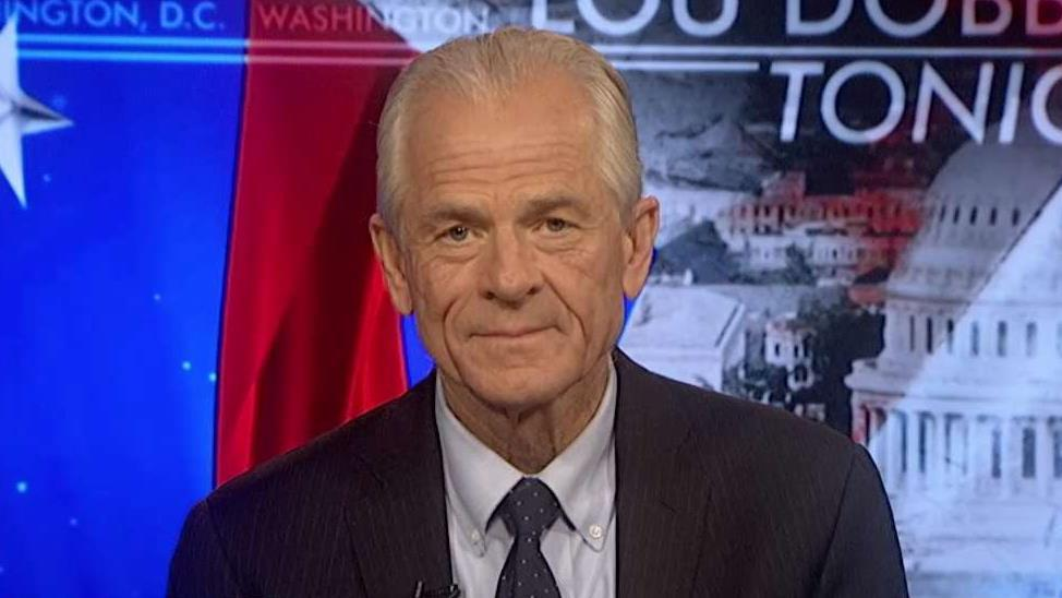 White House Director of Trade Policy Peter Navarro discusses the August jobs report and how President Trump threatened to hit China with tariffs on $267 billion worth of goods.