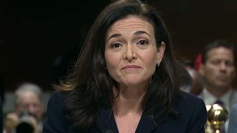 Facebook COO Sheryl Sandberg on efforts to collaborate with other social media companies as well as law enforcement in an effort to improve security.