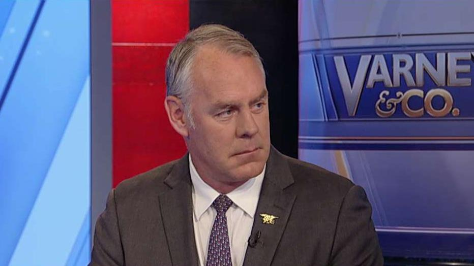 Secretary of the Interior Ryan Zinke discusses the Bureau of Land Management's lease sale of land to the oil and gas industry, which totaled $1 billion in revenue.