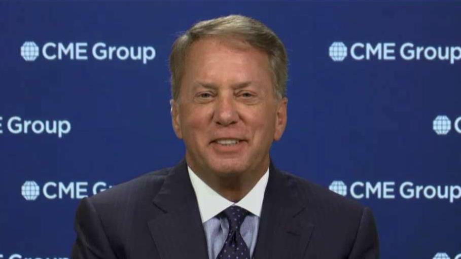 CME Group Chairman and CEO Terry Duffy tells FOX Business' Neil Cavuto that U.S. businesses are adapting to current oil prices.