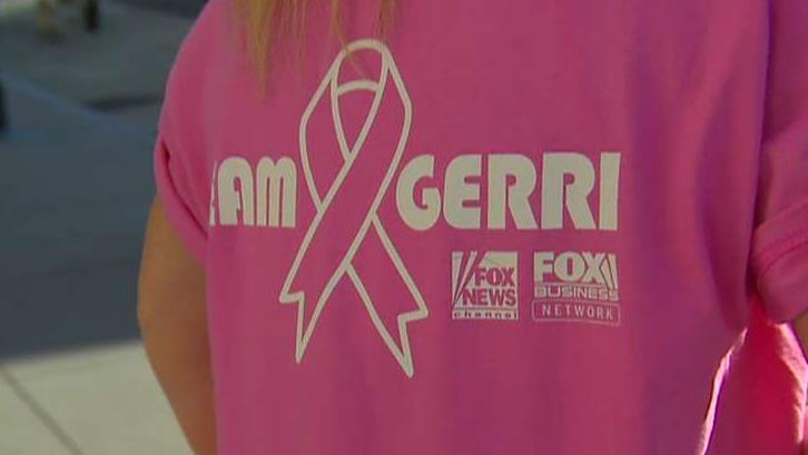 FBN's Gerri Willis discusses her fight against breast cancer and how she will participate along with other Fox employees in the 2018 Susan G. Komen Greater NYC Race for the Cure.