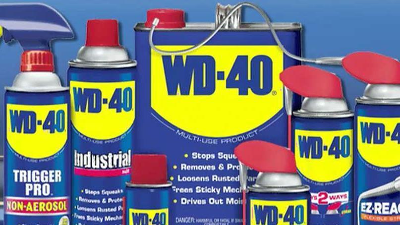 WD-40 Company CEO Garry Ridge on the company's 65th anniversary and its diverse line of products.